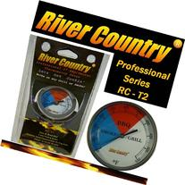 River Country RC-T2 Color Coded Thermometer Barbecue