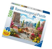 Rooftop Garden 500 Piece Large Format Puzzle