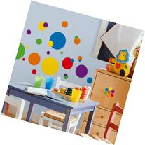 RoomMates RMK1248SCS Just Dots Primary Colors Peel & Stick