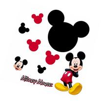 Roommates Rmk1506Gm Mickey Mouse Chalkboard Peel & Stick