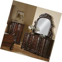 Roundhill Furniture Saillans Solid Wood Construction Fully