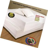 Royal Bed Bug Hypoallergenic Mattress Cover With Zipper
