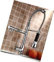 Rozin Pull Down Kitchen Sink Faucet Swivel Spout Mixer