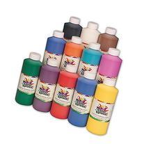 S&S Worldwide Color Splash! Liquid Tempera 16 oz. Assortment