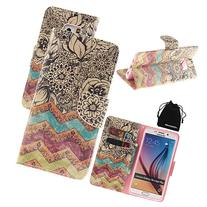 DRUnKQUEEn S6 Edge Plus Case, PU Leather Credit Card Holder