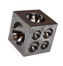 SE JT3400DS Dapping Block, Square 1.5 x 1.5 x 1.5 Inch