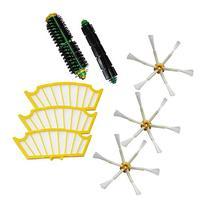 SHP-ZONE Bristle Brush & Flexible Beater Brush & Side Brush