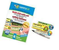 SafetyTat Child ID Tattoos