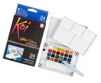 Sakura XNCW-24N, 24 Assorted Watercolors Field Sketch Set