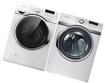 Samsung 4.0 Steam Washer and Electric Dryer WF398ATPAWR +