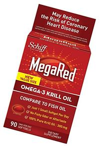 Schiff Products - MegaRed Omega 3 Krill Oil, 300 mg , 90