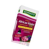 Schultz African Violet Plus Liquid Plant Food 8-14-9, 4 oz