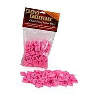 Max Tiles Cheat-Proof Plastic Scrabble Letter Tiles, Set of