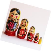 Semenov Russian Nesting Doll 5pc./4