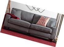 """Serta RTA Palisades Collection 73"""" Sofa in Glacial Gray,"""