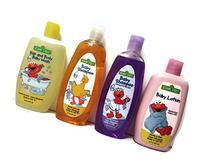 Sesame Street 4 Piece Bundle: Baby Shampoo, Baby Shampoo ,