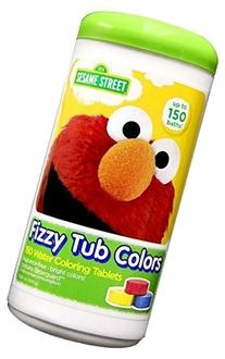 Sesame Street Fizzy Tub Color Tablets - 150 Baths - Value