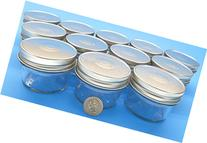 4 oz Mason Jars with Smooth Sides -Easy to Label with