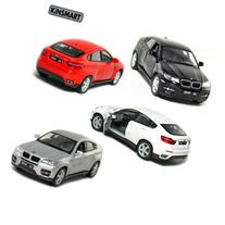 "Set of 4: 5"" BMW X6 SUV 1:38 Scale"