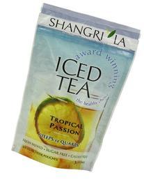 Shangri La Tea Company Iced Tea, Tropical Passion, Bag of 6