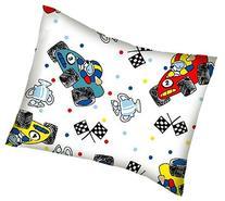 SheetWorld Crib / Toddler Percale Baby Pillow Case - Fun