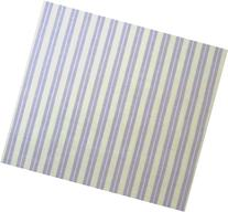 SheetWorld Fitted Pack N Play  Sheet - Lavender Dual Stripe