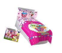 Shopkins 5 pc Twin Bedding Set, Comforter, Sheets,