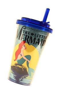 Silver Buffalo DP6984G Disney Little Mermaid Glitter BPA-