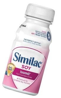 Similac Isomil Soy, for Fussiness and Gas Forumula  With