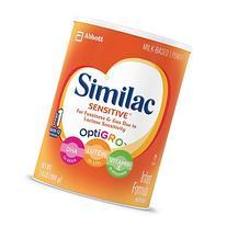 Similac Sensitive Infant Formula with Iron, Powder, One