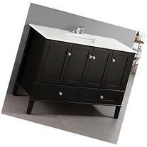 Simpli Home NL-ROSSEAU-ES-48-2A Chelsea 48 inch Bath Vanity