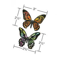 Sizzix 661182 Detailed Butterflies Thinlits Die Set by Tim