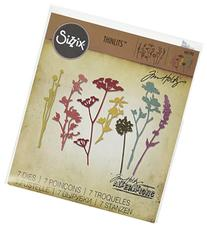 Sizzix 661190 Wildflowers Thinlits Die Set by Tim Holtz