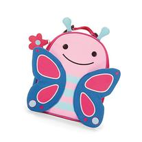 Skip Hop Zoo Kids Insulated Lunch Box, Blossom Butterfly,