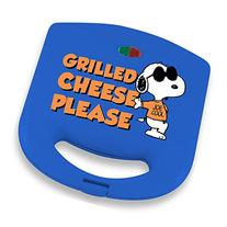 Smart Planet SGCM‐1 Peanuts Snoopy Grilled Cheese Sandwich Maker, Blue