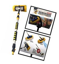 Smart Telescoping High Pressure Washer Soap & Water Scrubber