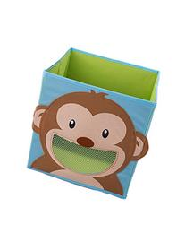Smiling Monkey Collapsible Toy Storage Box and Closet