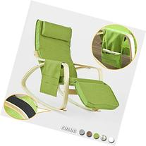SoBuy Comfortable Relax Rocking Chair, Gliders,Lounge Chair