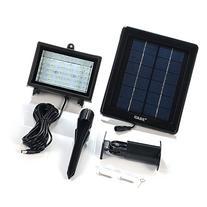 Solar Floodlight; 30 LED Outdoor Security Light; Solar Flood