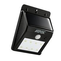 Solar Lights, Agptek Outdoor Bright Wireless 8 LED Wall