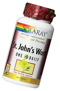 Solaray One Daily St. John's Wort Supplement, 900 mg, 60