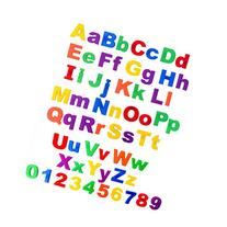 Somasix New and Improved ABC Magnetic Letters and Numbers - Educational Refrigerator Magnets