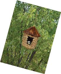 Songbird Essentials SE10355 Large Hanging Grass Twine House