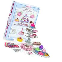 "Sophia's 18"" Doll Dessert Set with Desserts, Serving Plates"