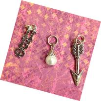 Sorority Greek Pi Beta Phi Essential Trio of Charms -