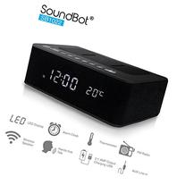 SoundBot® SB1022 FM RADIO Bluetooth Wireless Speaker &