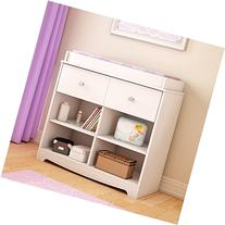 South Shore Little Teddy's Changing Table, Pure White