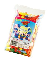 Splash Party Water Balloon, Assorted Colors, 500-Piece