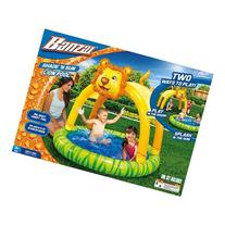 Spring & Summer Toys Banzai Shade 'N Sun Lion Pool with