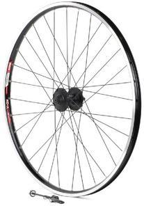 Sta-Tru Black Shimano Deore M525 6-Bolt Disc Hub Front Wheel